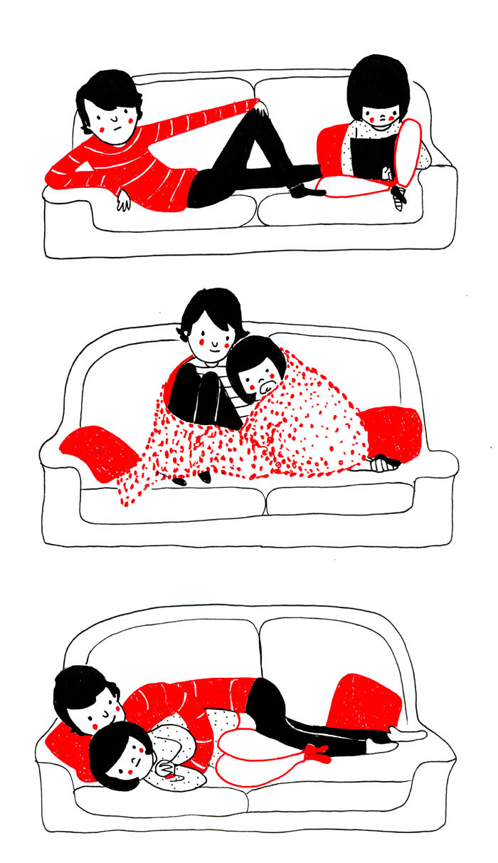 ilustraciones pareja felicidad (13)