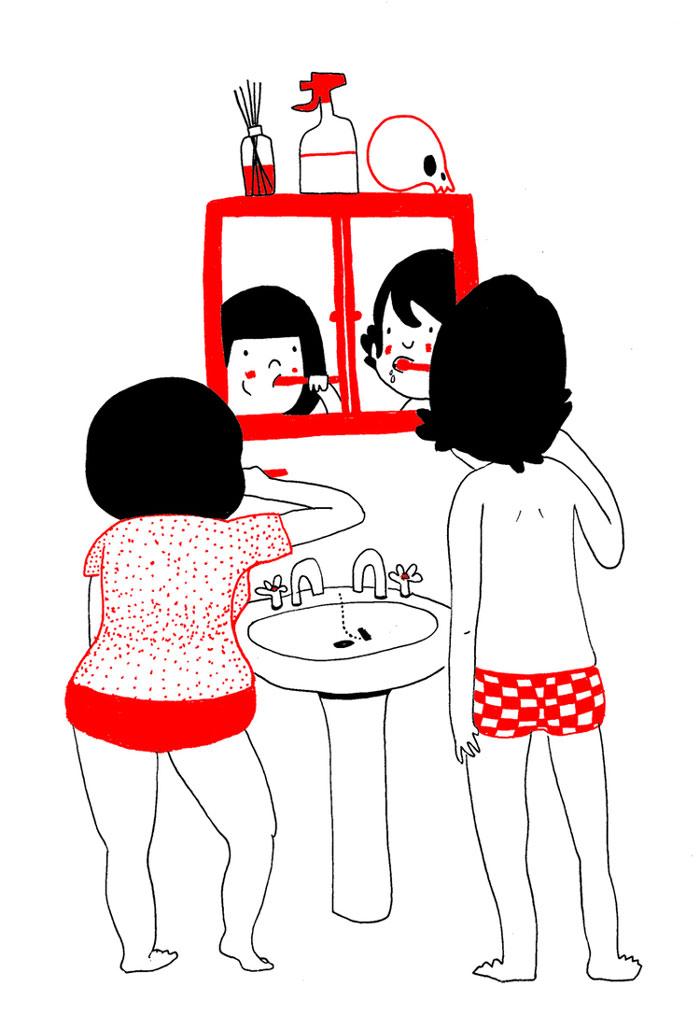 ilustraciones pareja felicidad (14)