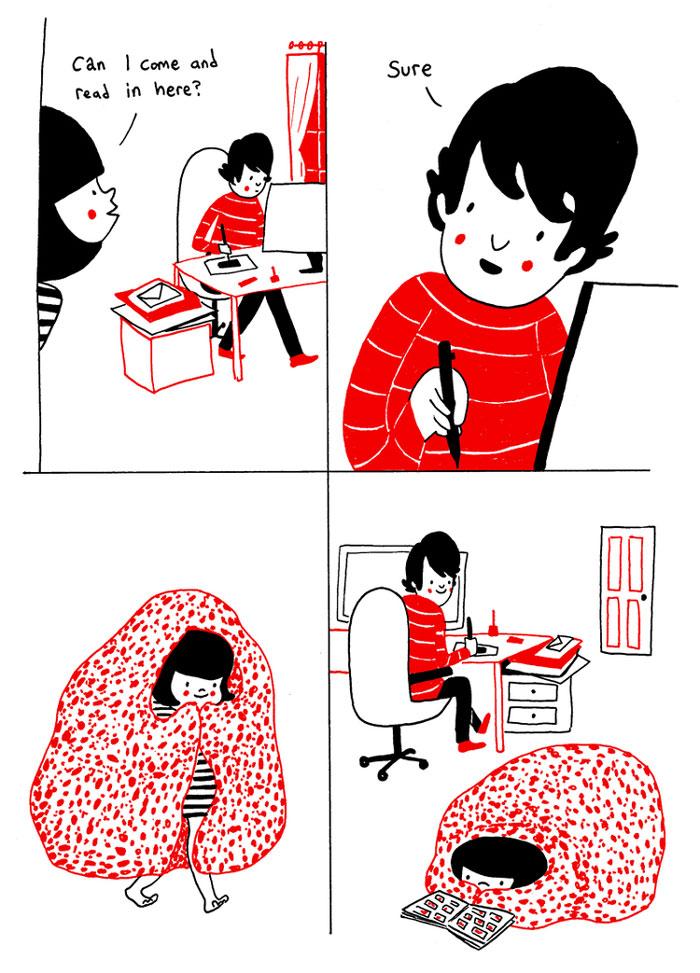ilustraciones pareja felicidad (2)