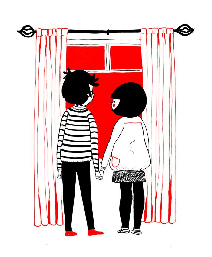 ilustraciones pareja felicidad (7)