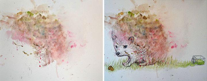 pinturas desde garabatos (1)