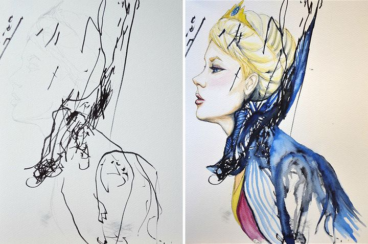 pinturas desde garabatos (2)