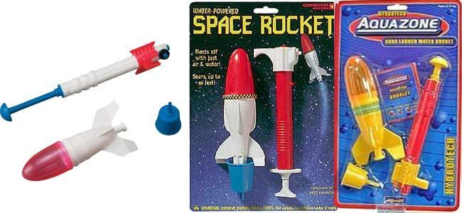 space rocket acuatech