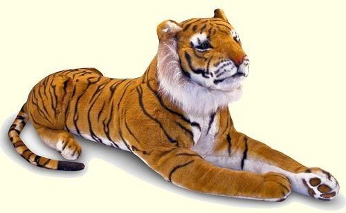 tigre gigante peluche