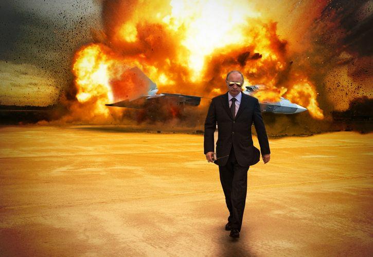 vladimir putin explosion