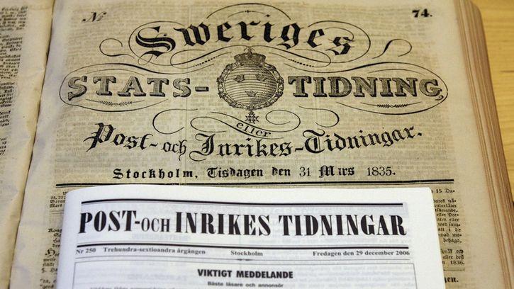 Post och Inrikes Tidningar