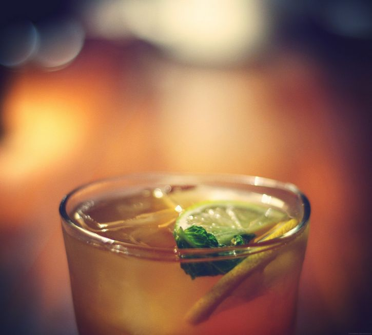 bebida con canela