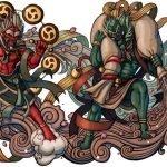 Fujin y Raijin