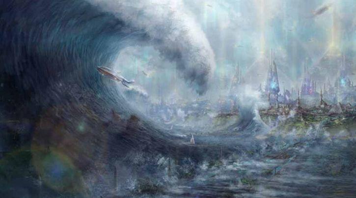 gran diluvio arte