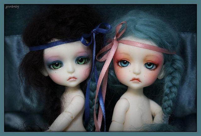 hermanas muñecas