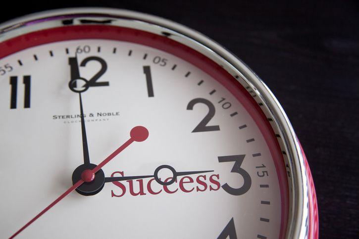 hora del éxito