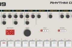Roland TR-909 simulado en HTML