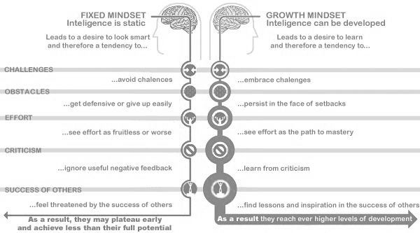 inteligencia estática vs inteligencia desarrollo