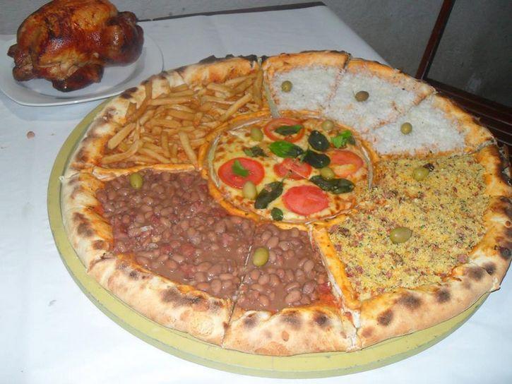 pizzaria batepapo brasil aroz y frijotes