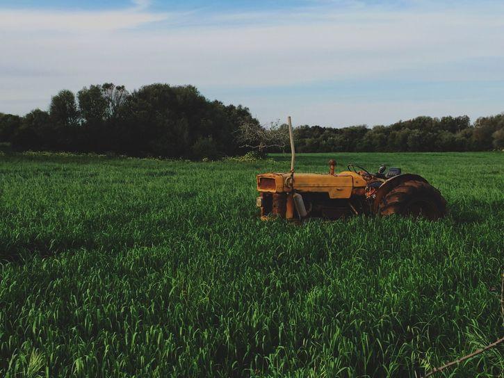 tractor granja