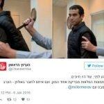 Reportero apuñalado en vivo mientras probaba un chaleco a prueba de cuchillos