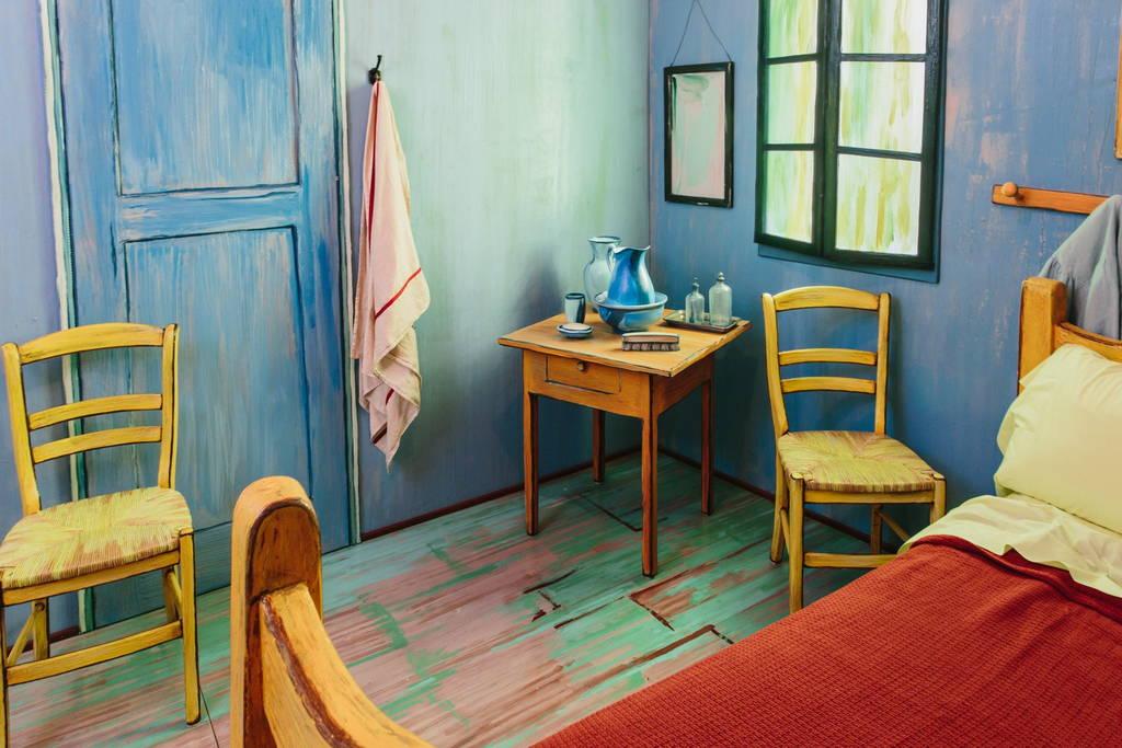 La habitación de Van Gogh en Arles real (4)