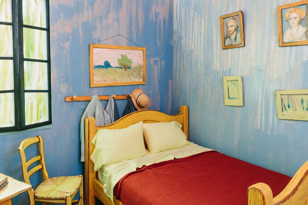 La habitación de Van Gogh en Arles real (5)