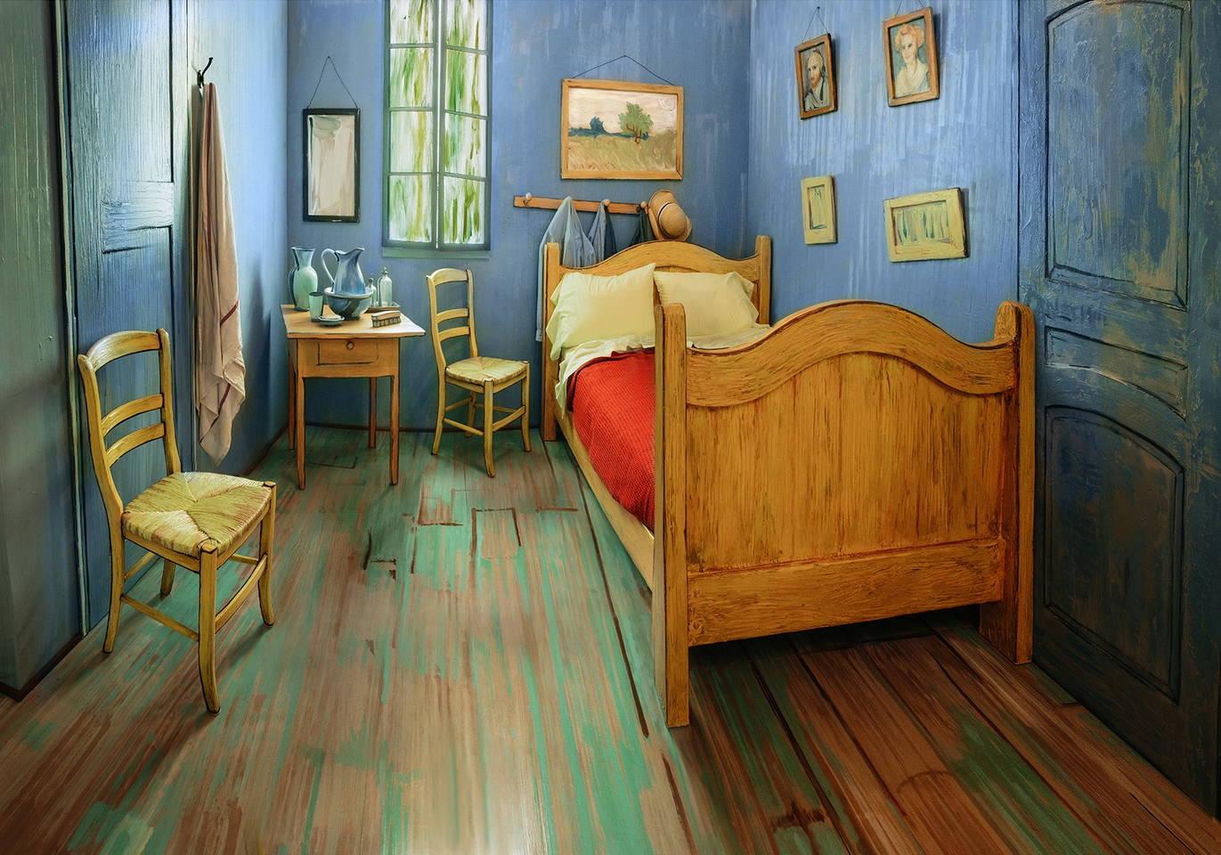 La habitación de Van Gogh en Arles real (7)