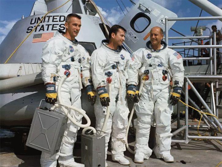 astronautas mision apolo 10