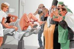 Ilustraciones satíricas, chocantes e inteligentes sobre la realidad