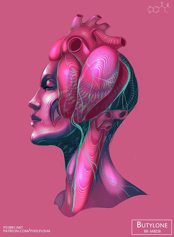 efecto drogas arte ilustracion (1)