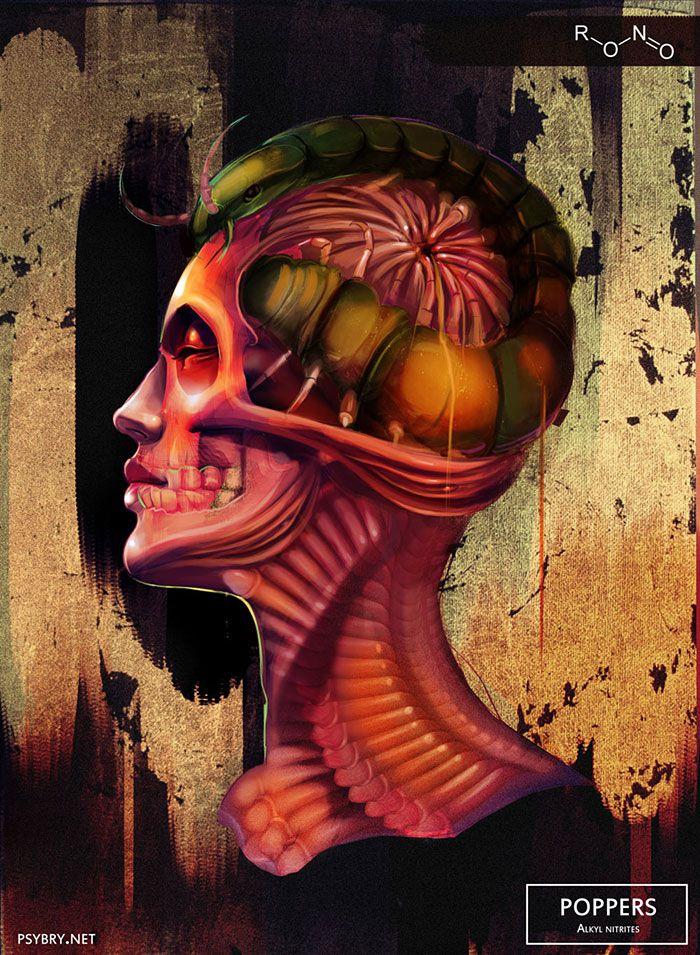 efecto drogas arte ilustracion (10)