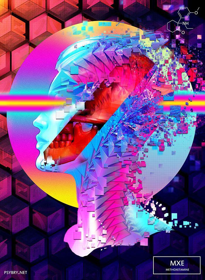 efecto drogas arte ilustracion (14)