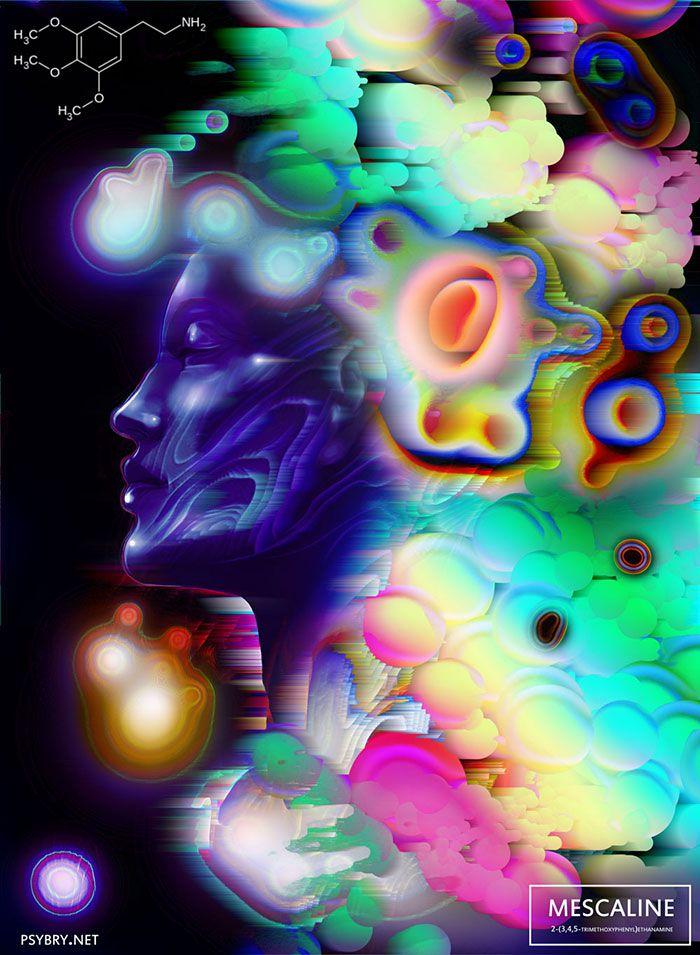 efecto drogas arte ilustracion (17)