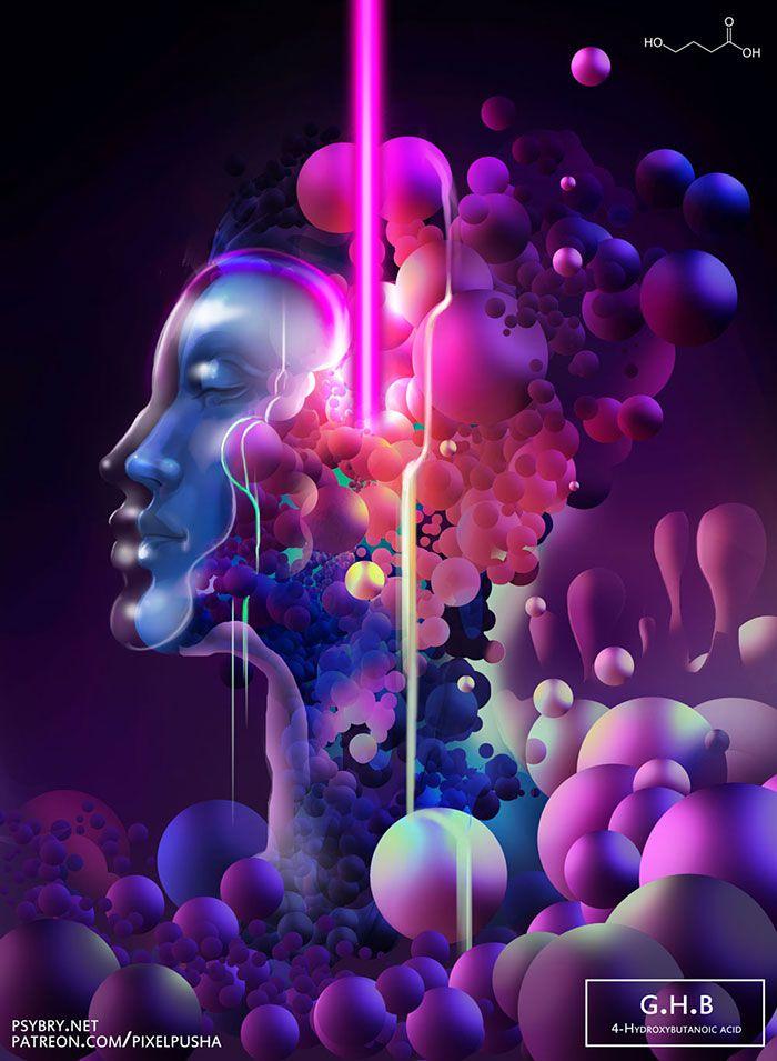 efecto drogas arte ilustracion (2)