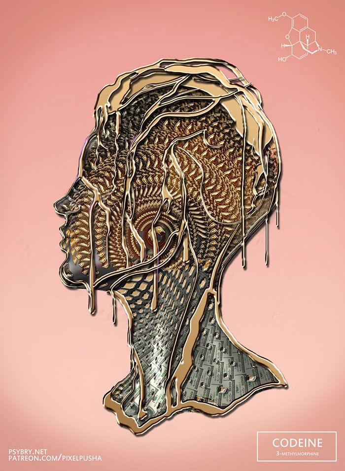 efecto drogas arte ilustracion (3)