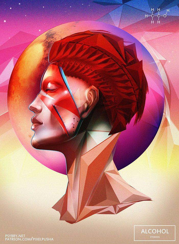 efecto drogas arte ilustracion (5)