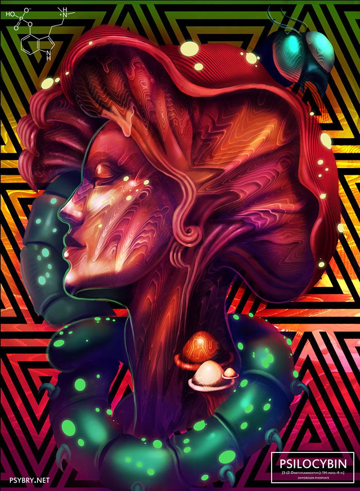 efecto drogas arte ilustracion (8)