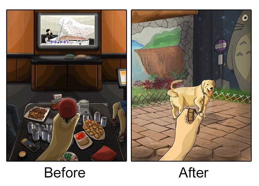 ilustraciones mascotas antes y despues (6)