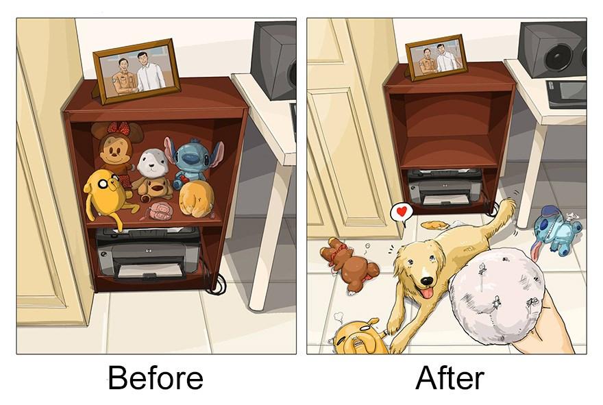 ilustraciones mascotas antes y despues (8)