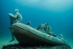 Museo Atlántico, el primer museo de escultura subacuática en Europa