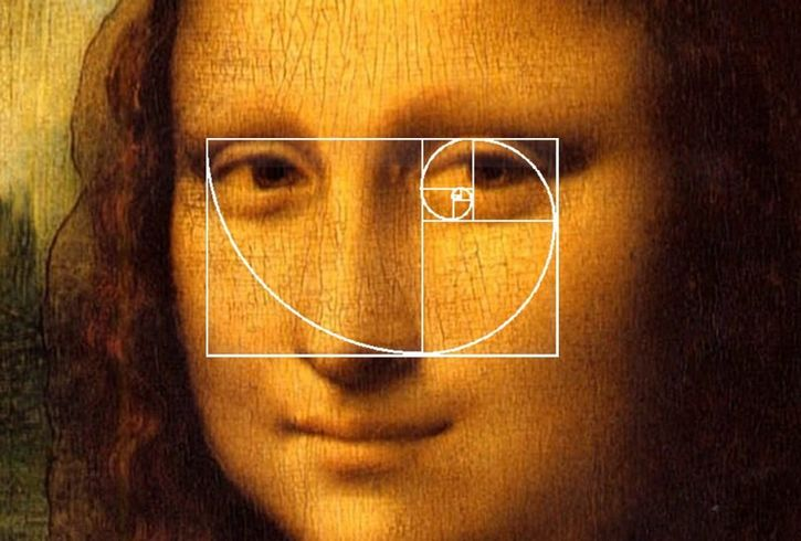 mona lisa proporcion aurea