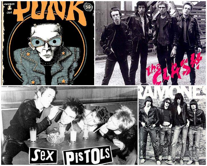 punk representantes 70s
