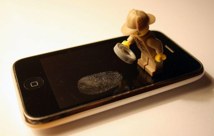 telefono huella digital
