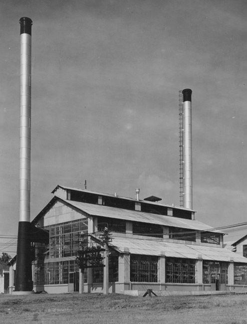 Planta de energía en Fordlandia, 1935.