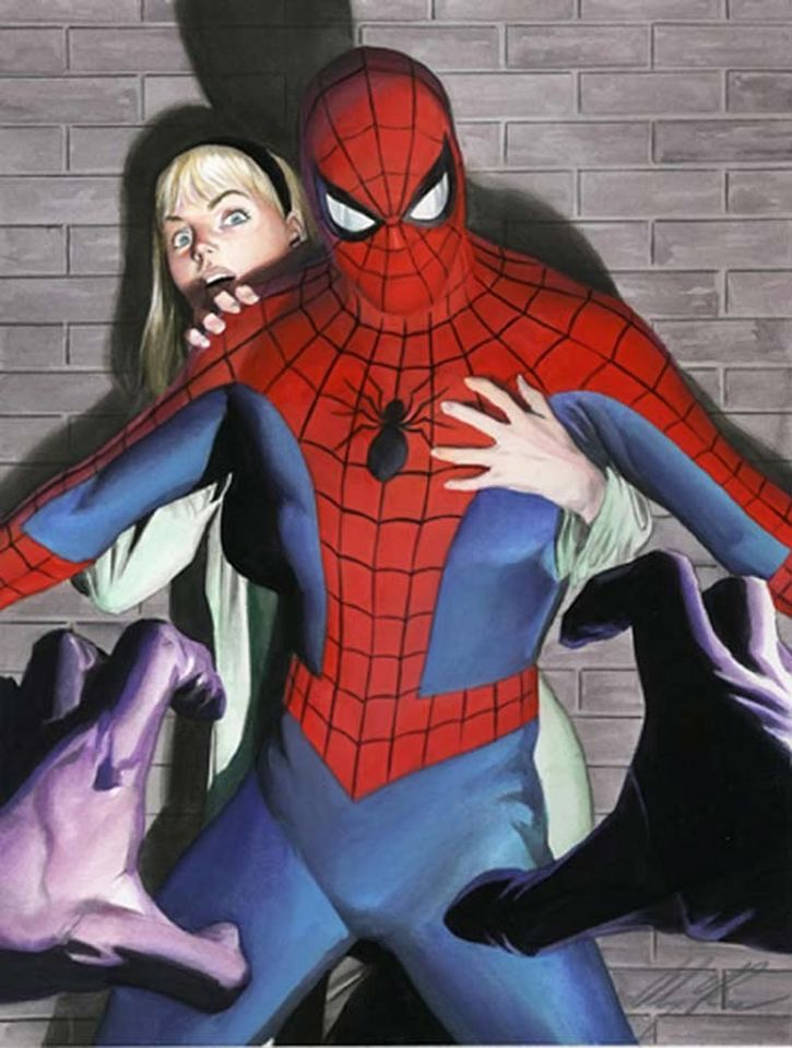 alex ross spiderman