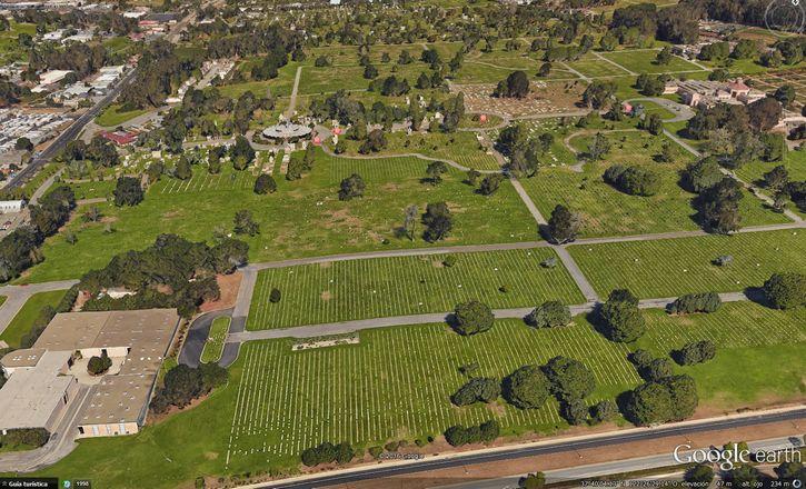 colma vista aerea cementerios