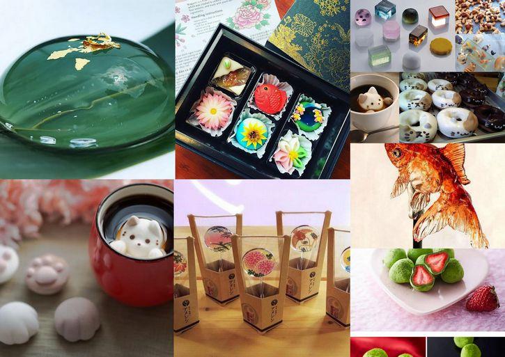 dulces en japon