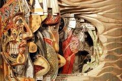 Esculturas impresionantes hechas con libros por Brian Dettmer