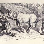 El hombre, el niño y el burro