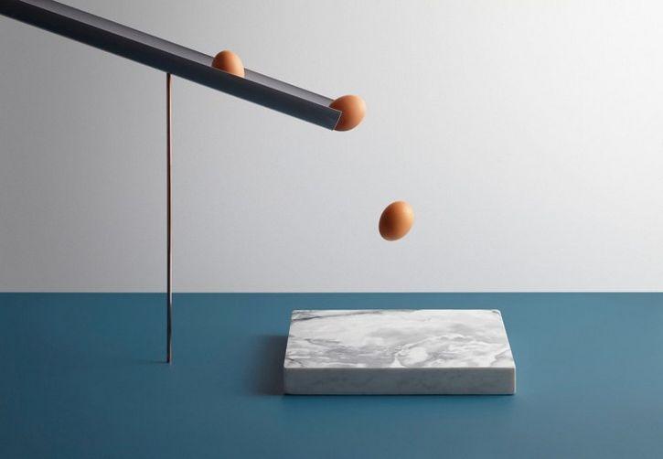 huevos marmol
