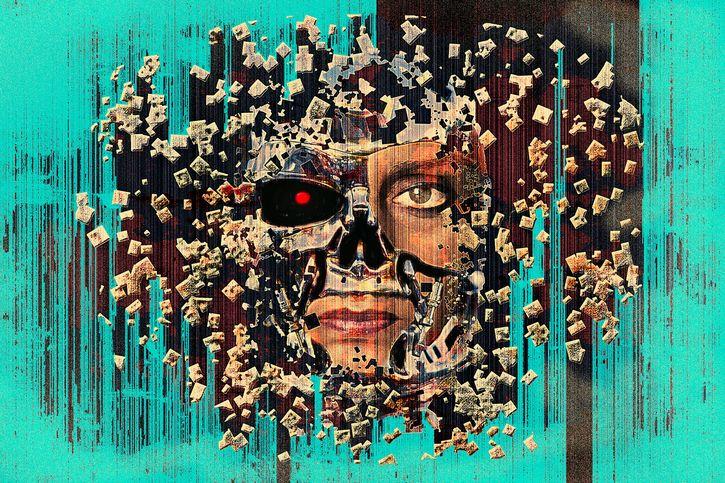 inteligencia artificial pintura