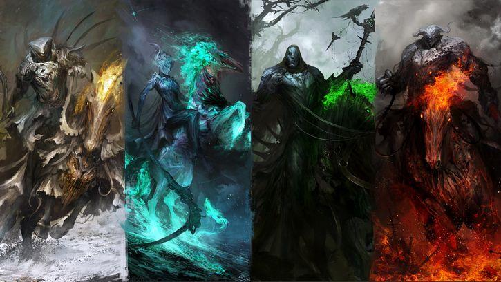 los cuatro jinetes del apocalipsis ilustracion (2)