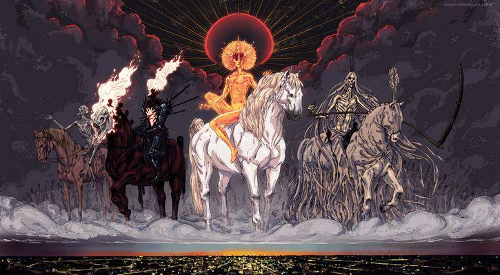 los jinetes del apocalipsis ilustracion (1)