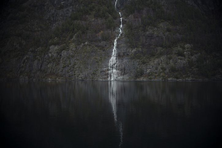 misterioso cascada